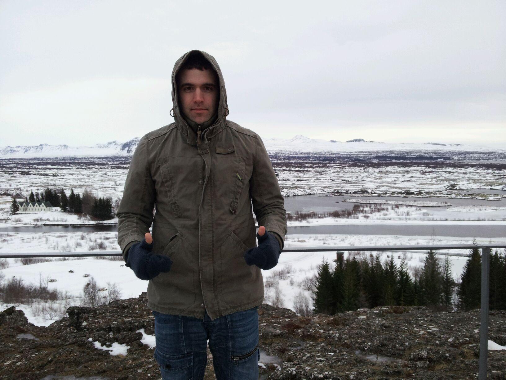 Steve...a little bit chilly